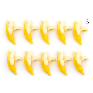 $VN 5pcs lovely Resin Banana Flatback Scrapbooking For DIY Phone Scrapbooking Craft ZNS 1126