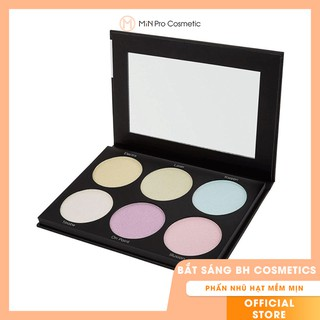 Bắt sáng BH Cosmetics Blacklight Highlight - 6 Color Palette