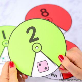 Đồ chơi Vòng tròn số lượng