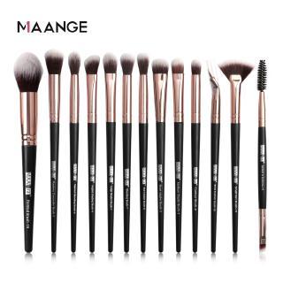 Hình ảnh MAANGE Bộ 13 Cọ Trang Điểm Sử Dụng Chuyên Nghiệp Make up Brush Set-4
