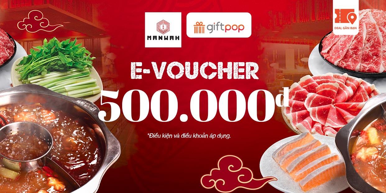 E-Voucher MANWAH 500.000