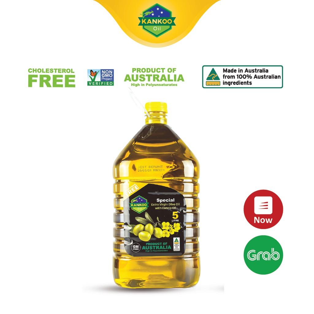 Dầu ăn Oliu hạt cải Kankoo 5 lít nhập khẩu từ Úc