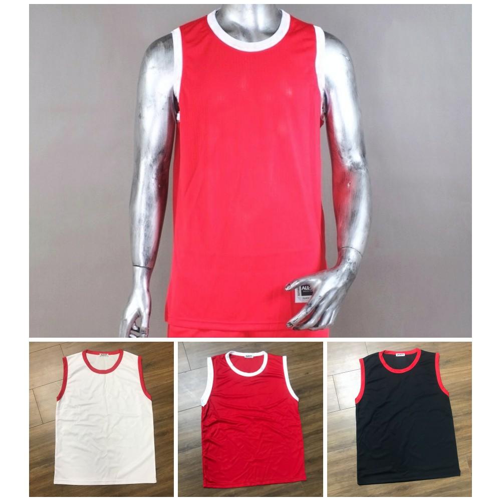 Tanktop thể thao, áo tập Gym, áo bóng rỗ (3 màu) - Chất thun thể thao thoán