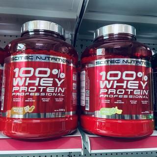 [DEAL SHOCK] Sữa Tăng Cơ Cho Người Tập Gym – Scitec 100% Whey Protein Professional (2.35Kg) – Chính Hãng
