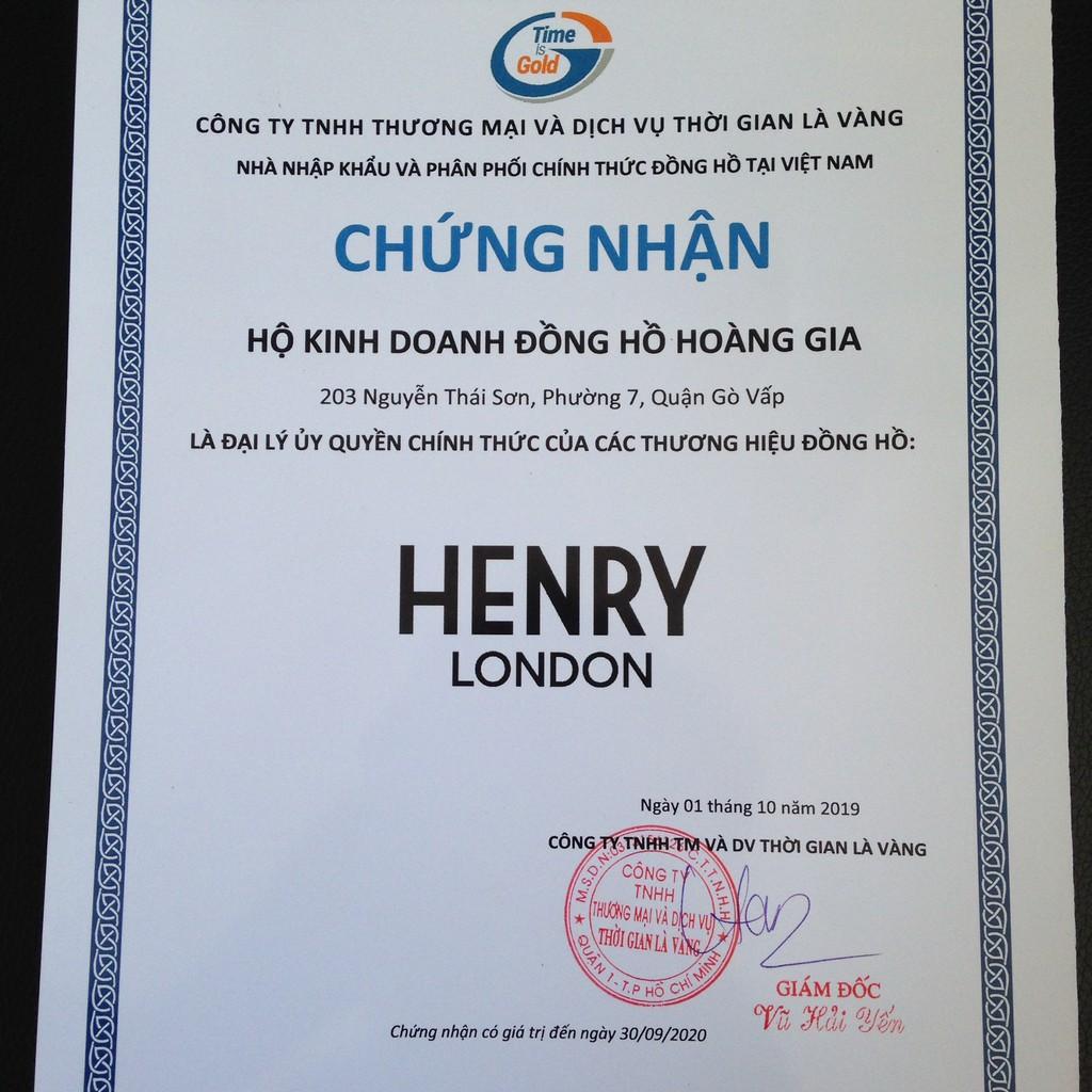 ĐỒNG HỒ NAM HENRY LONDON HL41-CM-0037 KNIGHTSBRIDGE