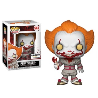 Funko Pop! Horror: IT – Pennywise with Severed Arm, Amazon Exclusive