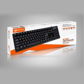 Bàn phím có dây Meetion K202 - Bảo hành chính hãng 12 Tháng [Free ship] thumbnail