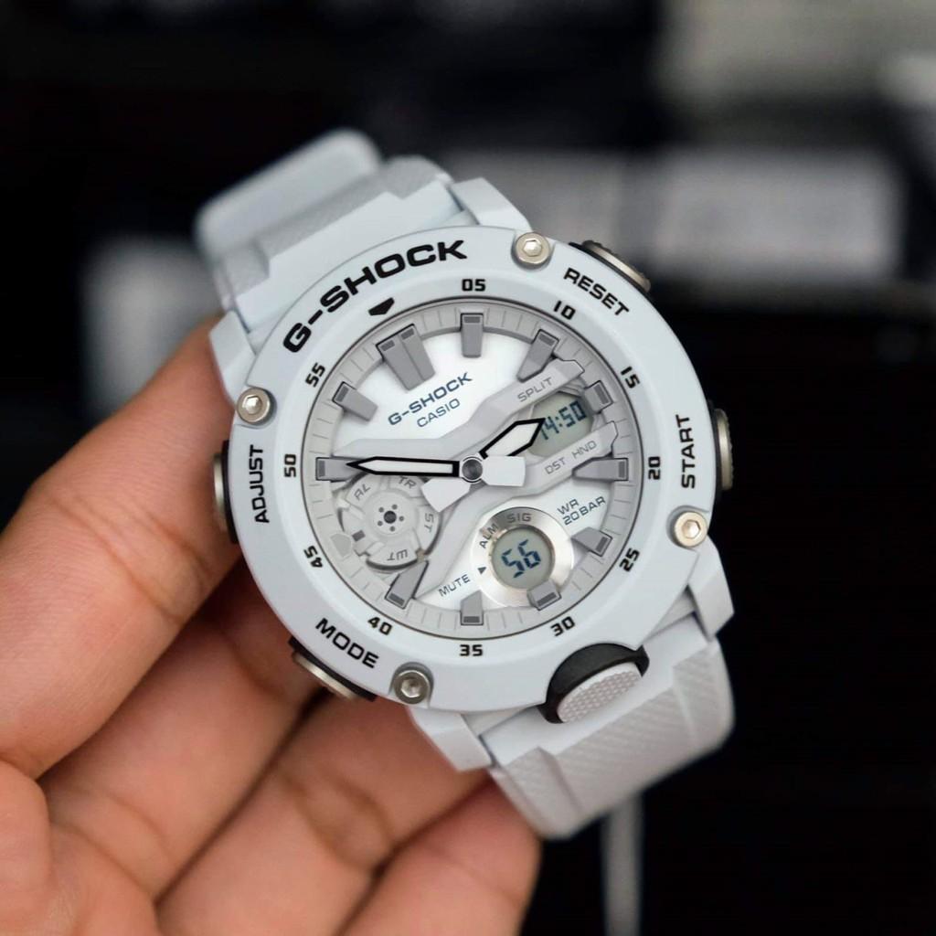 นาฬิกาG-shock White Carbon Core Guard