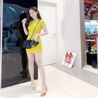 Set túi kèm ví full màu siêu sang túi xách nữ dây xích kèm ví giá rẻ GGVIMAU 299k sale còn 199k
