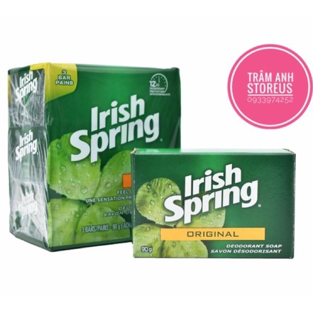 XÀ BÔNG CỤC IRISH SPRING ORIGINAL USA MỸ 113gr