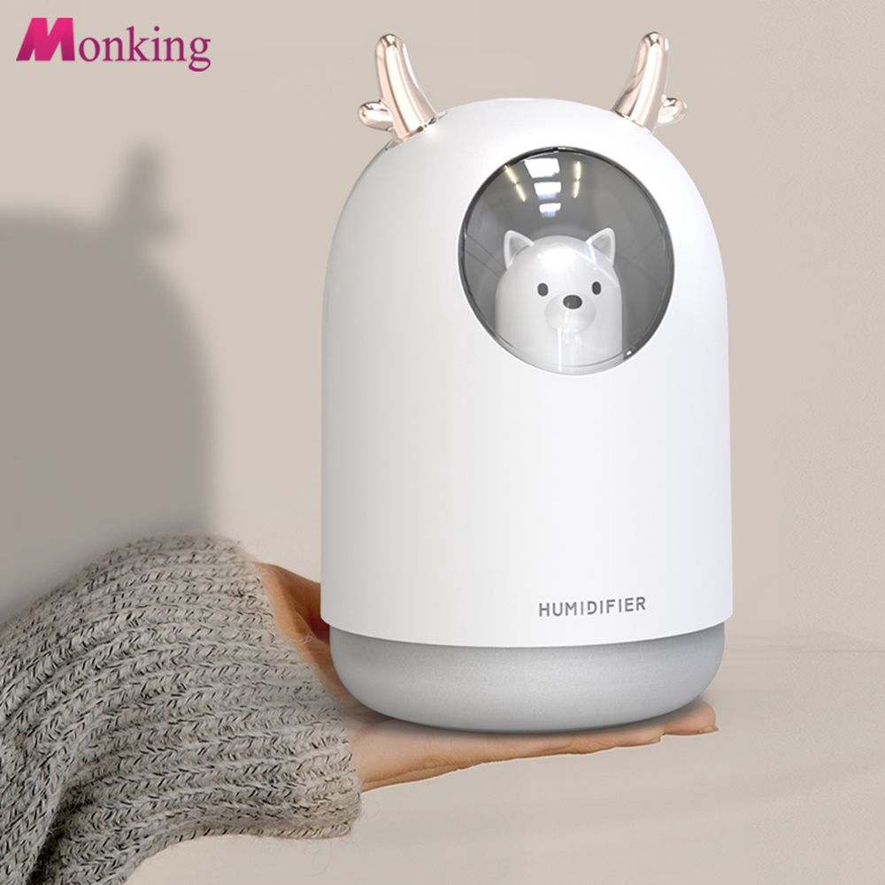 Colorful Breathing Light Mini USB Air Humidifier Ultrasonic Mute Car Home Office Humidifier MNKG