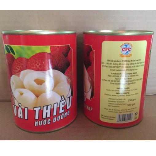 Vải Thiều Ngâm Việt Nam Lon 565g - 3069721 , 1018249825 , 322_1018249825 , 30000 , Vai-Thieu-Ngam-Viet-Nam-Lon-565g-322_1018249825 , shopee.vn , Vải Thiều Ngâm Việt Nam Lon 565g