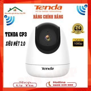 Camera Ip Wifi Tenda CP3 2MB - FHD1080P Xoay 360 Độ - Dõi Theo Chuyển Động [ c6n h21p a22ep Iot03 ] - Chính Hãng BH24TH