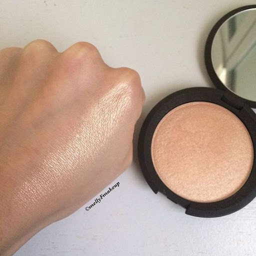 Phấn highlight BECCA Shimmering Skin Perfector Pressed màu champagn pop