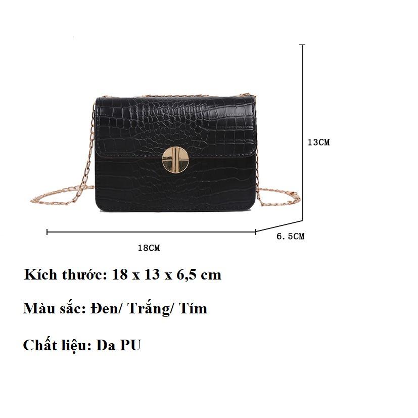 Túi xách nữ HENA đeo chéo hàng hiệu đẹp HY128