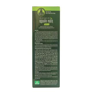 Hình ảnh [Mã FMCGMALL giảm 8% đơn từ 250K] Dầu gội Dược liệu Nguyên Xuân xanh 250ml (Dưỡng tóc, phục hồi hư tổn)-6