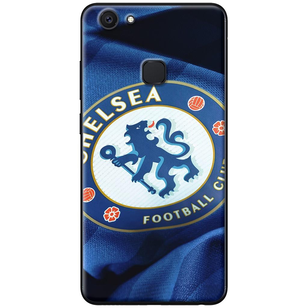 Ốp lưng Vivo V7, V7 Plus - nhựa dẻo Chelsea xanh lượn sóng