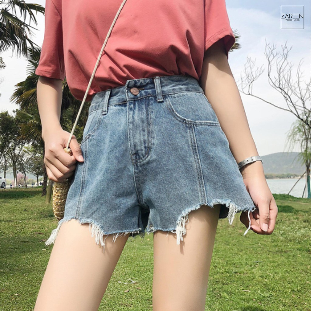 Quần short Jeans basic ZAREEN SHO07 - 14662289 , 1285511668 , 322_1285511668 , 209000 , Quan-short-Jeans-basic-ZAREEN-SHO07-322_1285511668 , shopee.vn , Quần short Jeans basic ZAREEN SHO07