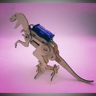 STEAM – lắp ráp khủng long và tô màu