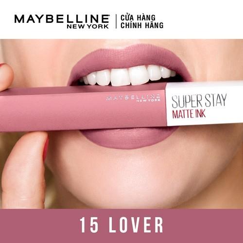 [HB Gift] Quà tặng Son kem chuẩn lì giữ màu 16h Maybelline Super Stay Matte Ink 5ml | WebRaoVat