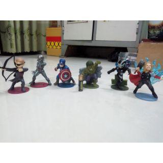 Bộ 6 mô hình chibi Avenger