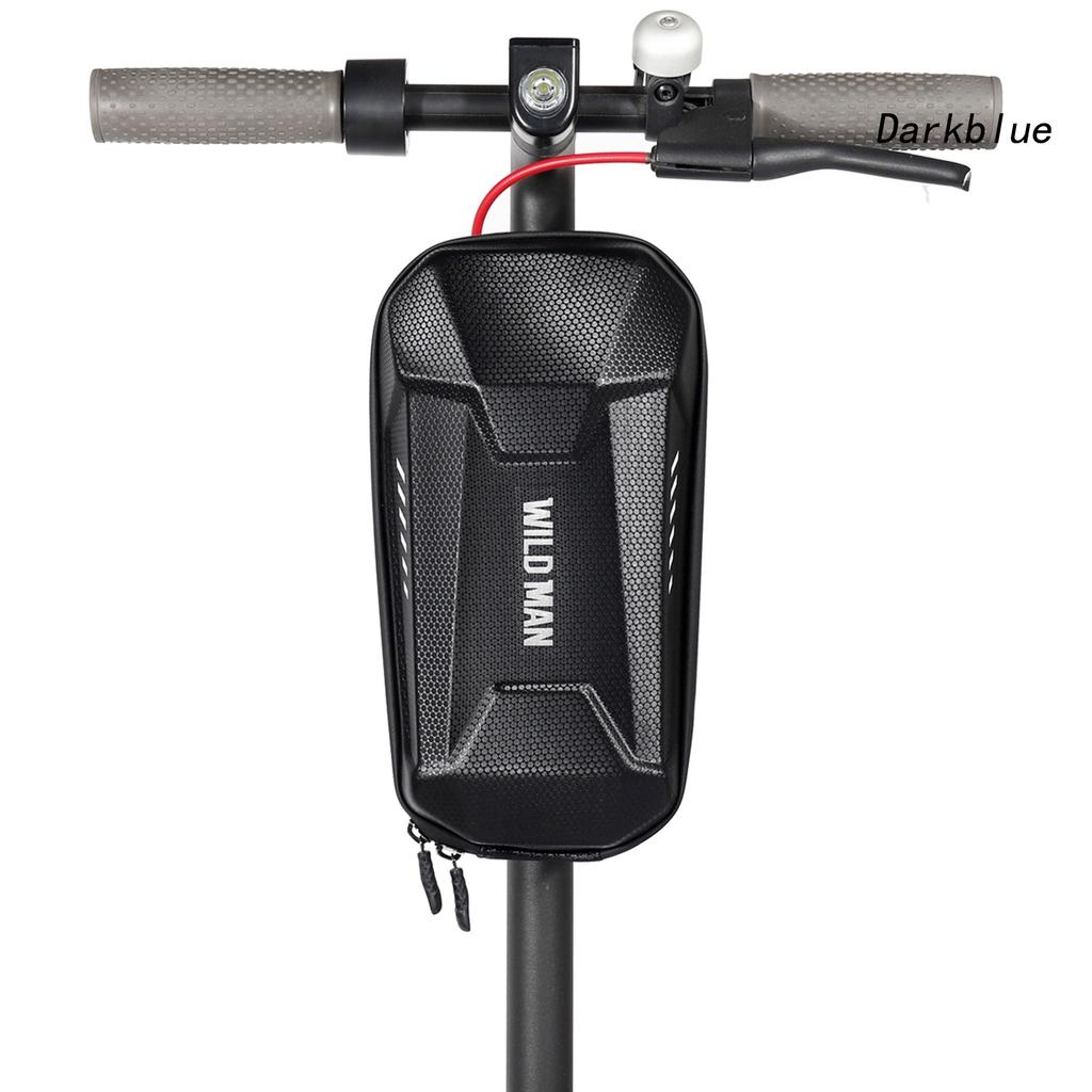 Túi Đựng Đồ Vỏ Cứng Chống Thấm Nước Trọng Lượng Nhẹ Gắn Tay Lái Xe Đạp Điện / Xe Máy Điện / Scooter Man-Es8X