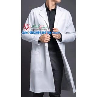 Áo Blouse dài bác sĩ Nam