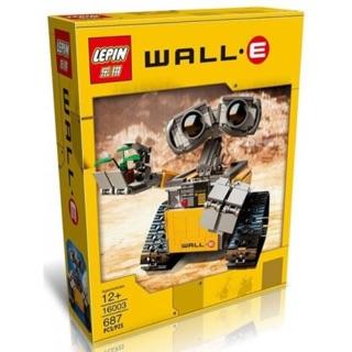 Lepin 16003 Robot Wall-E – Đồ chơi xếp hình, lắp ráp thông minh