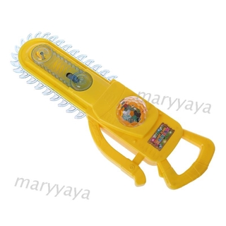 Mary Magical Imaginary Flash Electric Chainsaw Children Kids Play Toy Education Gifts