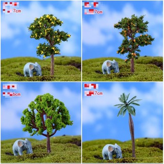Mô hình cây dừa táo xanh phụ kiện trang trí