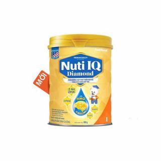 SỮA BỘT NUTI IQ DIAMOND 1 THÊM HMO,DHA 900G thumbnail