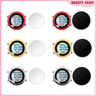 Waterproof Mini Alarm Clock Motorbike Yacht Boat Digital Clock