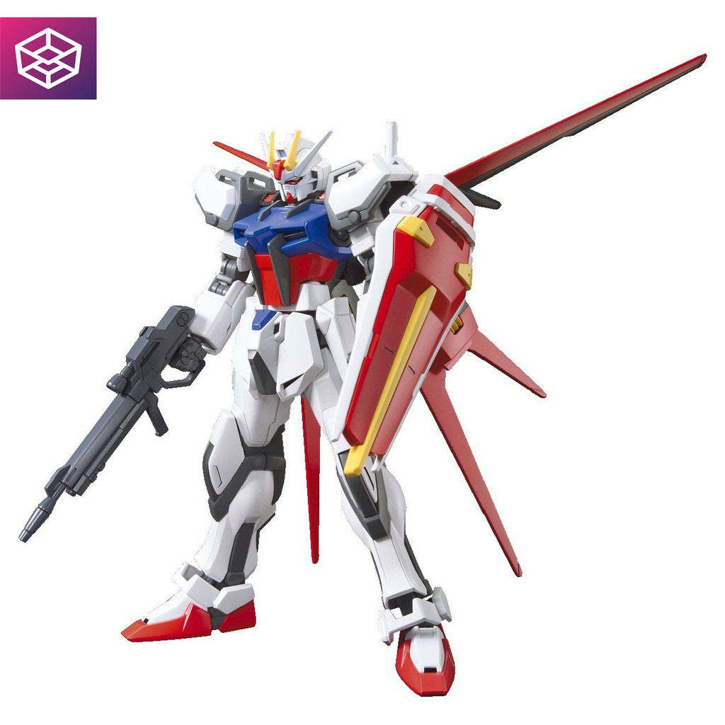 Mô Hình Lắp Ráp Bandai High Grade Aile Strike Gundam
