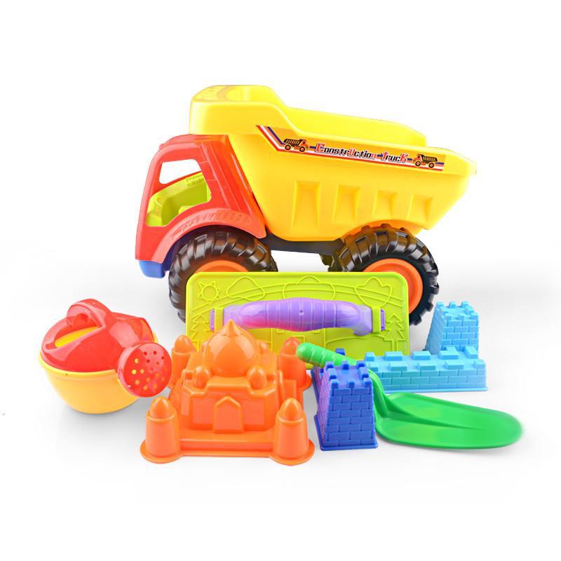 Beach toy car set barrel baby play Sand beach toys