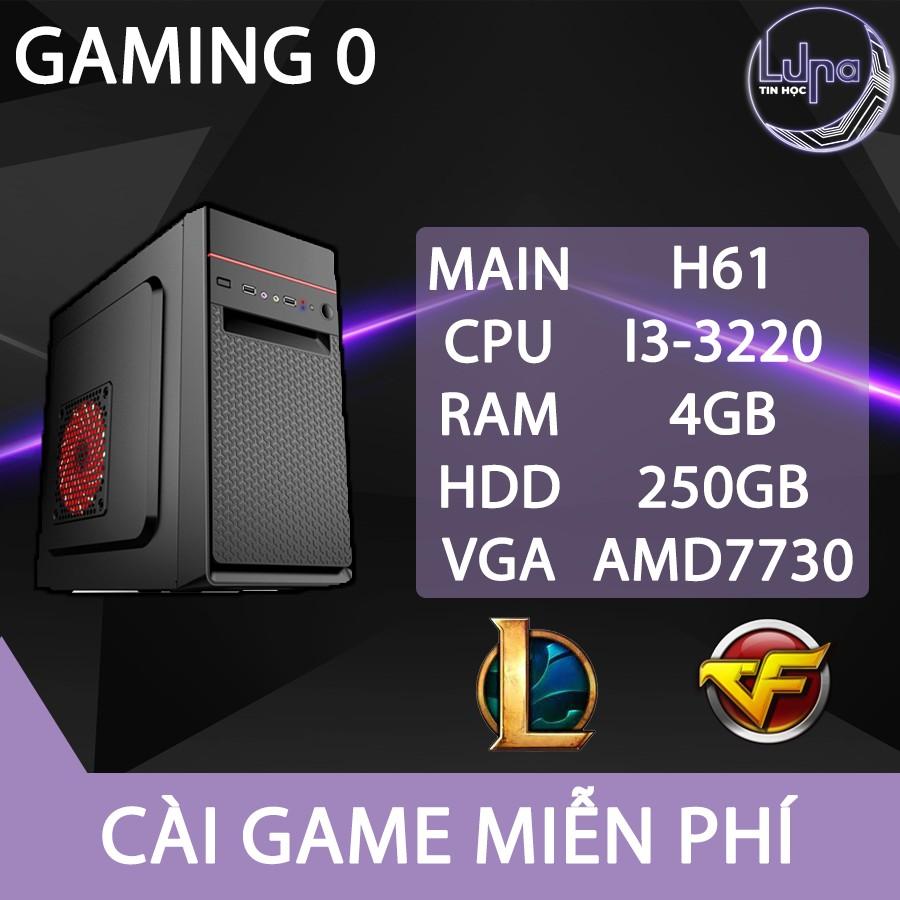 Combo máy bàn chơi tốt liên minh, fifa, pubg và các tựa game phổ thông, bảo hành 6 tháng nhanh gọn