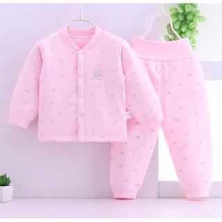 BỘ ĐẠI HÀN CÚC GIỮA BÉ TRAI BÉ GÁI quần áo mùa đông cho bé quần áo dài tay cho bé bộ thu đông cho bé quần áo thu đông