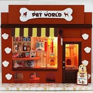 [Giảm Tiếp 10% HANHPHUC9 ] Nhà búp bê Pet World