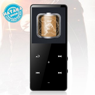 Yêu ThíchMáy nghe nhạc mp3 bluetooth JS-04 cao cấp nút bấm cảm ứng bộ nhớ trong 8Gb tặng tai nghe và dây sạc