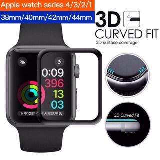 Apple Watch 1/2/3/4 3D 9H Tempered Glass