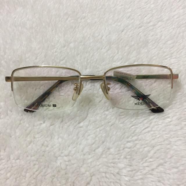 Gọng kính lão titanium 100% MDELL Mã MTA001