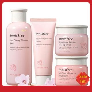 BỘ KEM DƯỠNG TRẮNG DA Bộ Dưỡng Ẩm, Trắng Da Chiết Xuất Lá Hoa Anh Đào Innisfree Jeju Cherry Blossom Cream Duo thumbnail