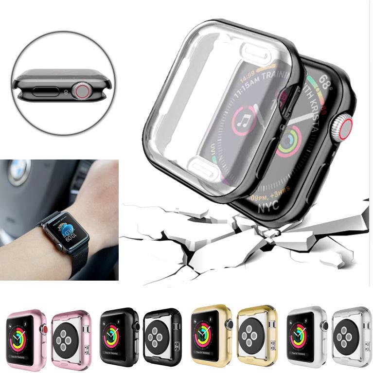 Ốp TPU mềm mỏng bảo vệ đồng hồ Apple I watch 1/2/3/4 38/40/42/44MM