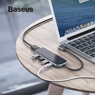 Cáp chuyển BASEUS HUB 7IN1 USB-C 3XUSB 3.0 HDMI 4K SD / TF MICRO SD PD
