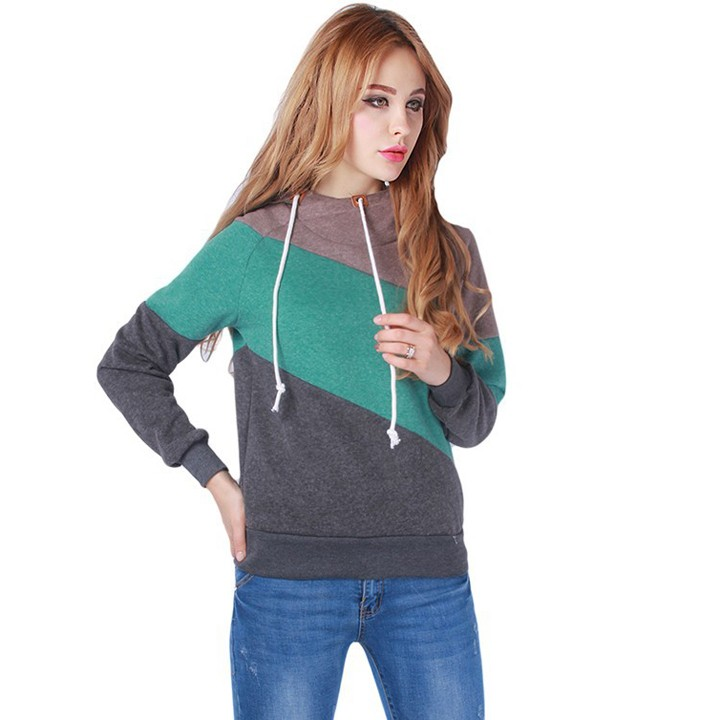 Áo khoác hoodie 3 màu vải thun