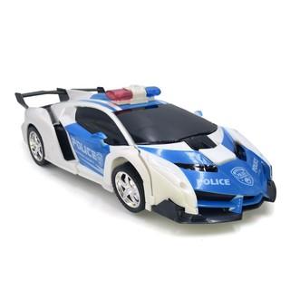 [Sale HM]Xe hơi biến hình thành robot Transfomers điều khiển từ xa