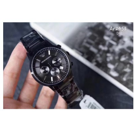 AR1968 100%ของแท้ Pre EMPORIO ARMANI Men's Watch ธุรกิจนาฬิกา นาฬิกาแฟชั่นแบรนด์ ชุดนาฬิกา