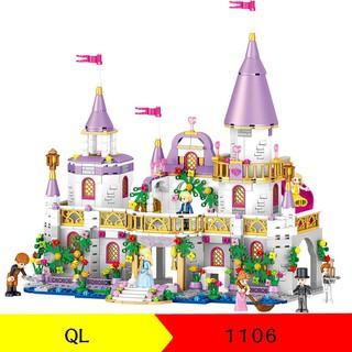 Lego xếp hình – Lâu đài QL1106 731pcs HLG0006