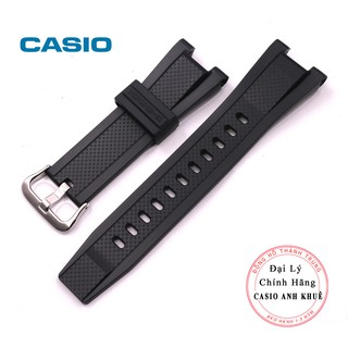 Dây cao su casio chính hãng cho Casio G-shock GST-210B, GST-S100G, GST-S110, GST-W100G, GST-W110