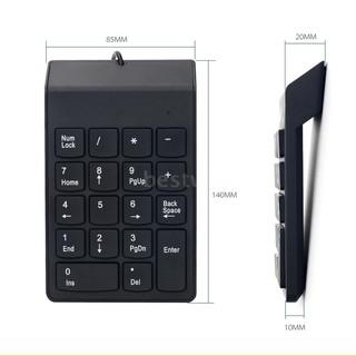 Bàn Phím Số Mini Có Dây 18 Phím Cho Imac Mac Pro Macbook Macbook Air Pro thumbnail