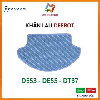 Khăn lau cho Robot hút bụi lau nhà Ecovacs De53 De55 DT88 Dm65 Dc68 khăn lau robot hút bụi